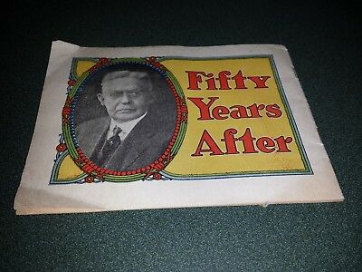 """Dr Miles Remedies Medical Book """"Fifty Years After"""" 1874-1924"""