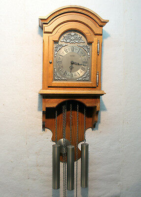Old Wall Clock Regulator Westminster 3 Weight Chime clock *HERMLE*