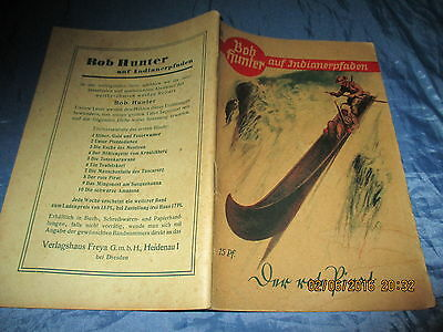Bob Hunter  auf Indianerpfaden , #  8 , Wildwest - Romanheft 1937 ,  Western