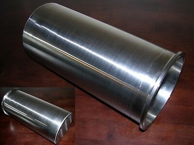 """6"""" Tri Clamp/Clover Sanitary SS 13"""" Long Extractor Spool Tank Vessel With Bottom"""