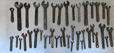 Large Lot of Assorted Antique & Vintage Wrenches