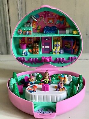 🎈Polly Pocket Party time Birthday Stampers Set - 1992 🎈