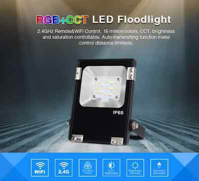 MiLight RGB+CCT LED Floodlight - WiFi Remote Control 10W - 50W