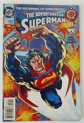 The Adventures of Superman - Issue # 0 - DC - 1994 - VF (579)