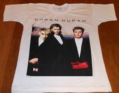 DURAN DURAN Strange Behavior Italy 87 Uniform (M) Official T Shirt GIFT IDEA 2
