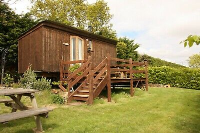 Glamping in The Eco Hut (Shepherds Hut) in Blean - Kent
