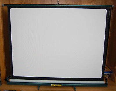 "Vintage Luxor ""Popular"" Projection Screen by Johnsons of Hendon"