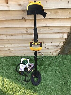Garrett  Ace 250 Metal Detector With EXTRAS:  Pinpointer, headphones, coil cover