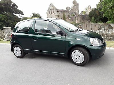 2001 Toyota Yaris 1.0 Very low miles 127 miles from new. 12 month mot.