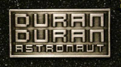 DURAN DURAN Astronaut Tour Pewter Badge / Button Official Merchandise GIFT IDEA
