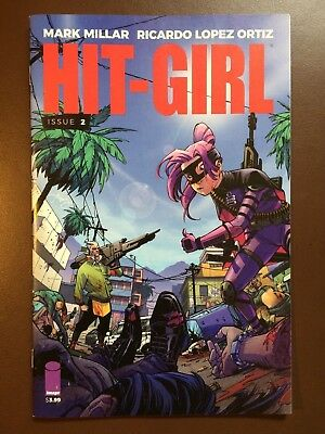 Image comics: HIT-GIRL # 2 , Cover A , 1st print, Kick-Ass