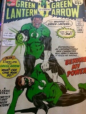 DC GREEN LANTERN AND GREEN ARROW issue #87