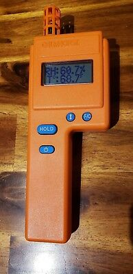 Delmhorst HT-3000 Digital Thermo-Hygrometer (Excellent condition)
