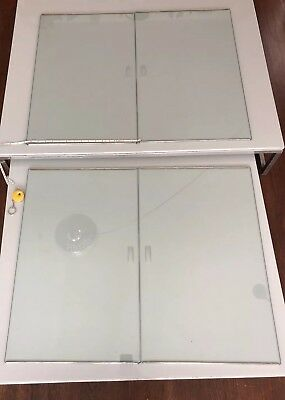 Second Pair Herman Miller Nelson 1 rare pair CSS Glass Doors large 25''x 15.75''