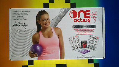 Brand New Michelle Bridges One Active Abs Solution Kit Workout