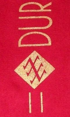 DURAN DURAN Official 1983/4 Tour Crimson Soft Wool Concert Scarf GIFT IDEA