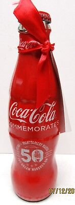 """2015 50Th Anniv """"selma To Montgomery March"""" Wrapped Coke Bottle-W/tag-No Barcode"""