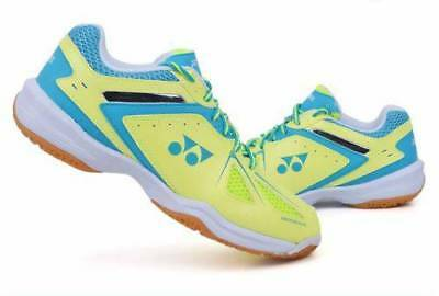 Yonex Badminton Shoes Power Cushion Racquet 35 Y/SX Yellow/Blue SX, Women sz 6.5