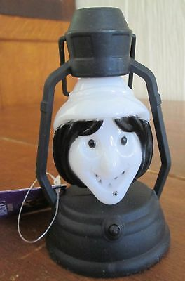Lot of 10 New Old Stock Greenbriar Light Up Witch Halloween Plastic Lantern