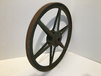 Antique Iron Small Wagon Wheel - Late 19th to early 20th Century