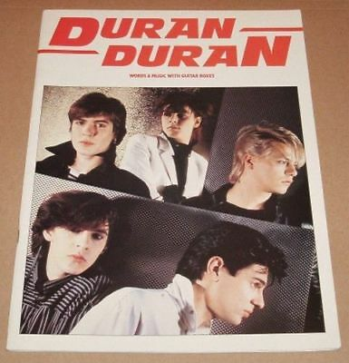 DURAN DURAN Song And Sheet Music Book - Debut (First) Album