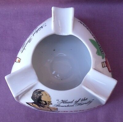Vintage Old Grand-Dad Old Taylor Dominion Ten Whiskey Advertising Ashtray
