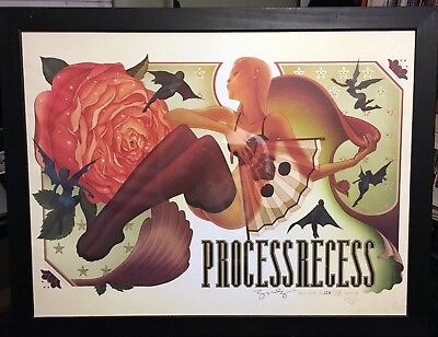 James Jean Process Recess Limited Edition Art Print RARE Signed and Numbered