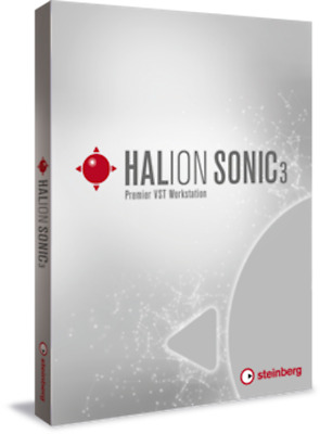 New Steinberg HALion Sonic 3 Retail Sound Production Instrument eDelivery