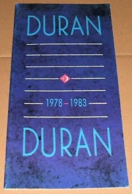 DURAN DURAN Official 1978-1983 Fan Club Booklet