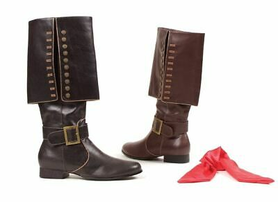 Pirate Knee High Adult Boots