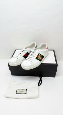 507bddbe2 GUCCI ACE EMBROIDERED Sneaker Sz8.5 P1/N2597 - $306.50 | PicClick