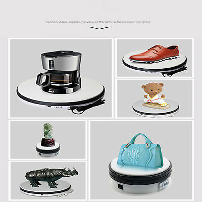 360Degree Showcase Rotating Turn Table Jewelry Display Stand Power 20KG Capacity