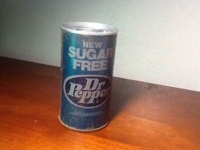 Vintage Dr Pepper  New Sugar Free Soda Can