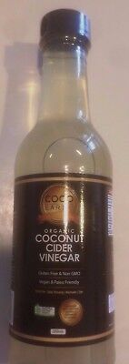 Organic Coconut Cider Vinegar - From the sap of the coconut flower - Yummy!!