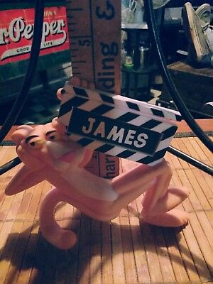 Pink panther figurine