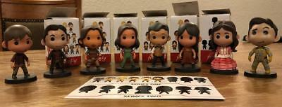 FIREFLY Mixed Lot of 8 Q-BITS Figures from Series 1 and 2 LOOT CRATE Cargo