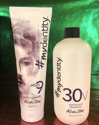 Guy Tang #MYDentity BIG 9 Creme lightener 10 oz. & 30V Developer 16 oz.