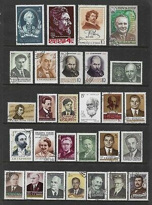 RUSSIA mixed collection No.53, Famous People