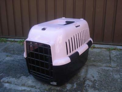 Europet Bernina Travel-Carrier/Transport Box FD for Dogs, Cats, Small Pets