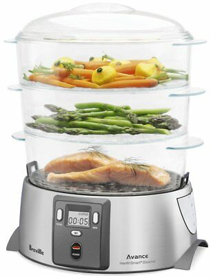 Breville BFS600BSS the Quick Steam™ Digital with Rice Cooking Bowl - RRP $99.95