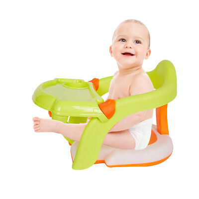 Bath Tub Chair Dining Booster Seat for Toddler 2 In1