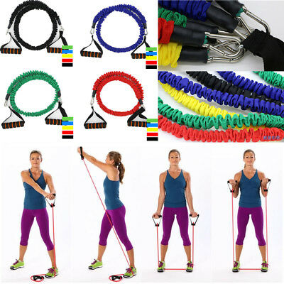 Elastic Resistance Bands Yoga Pull Fitness Workout Sports Yoga Rubber Pull Rope
