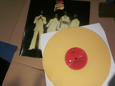 "SLADE ""In Flame"" Yellow Vinyl (When Slade Rocked The World) NEU + Flexidisc"