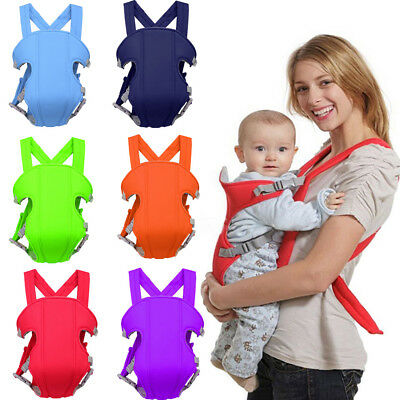 Adjustable Breathable Infant Baby Carrier Ergonomic Wrap Sling Newborn Backpack