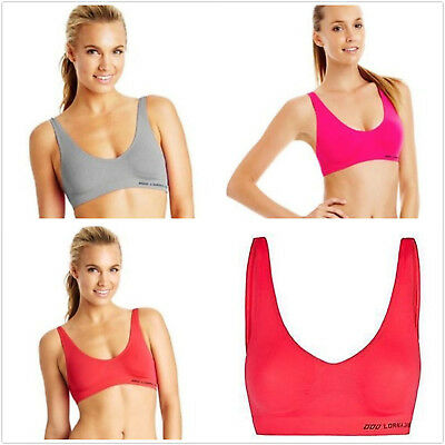 New Arrival Lorna Jane Warrior Seamless Sport Bra Crop Top Yoga Fitnes Size XS-L