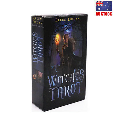 Witches Tarot Deck Сard Rider-waite Smith English Version 78 Cards AU STOCK