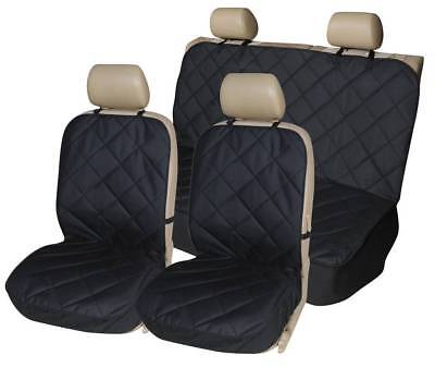 PREMIUM BLACK QUILTED SEAT COVERS SET for VAUXHALL ASTRA VXR (05-10)