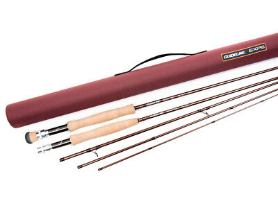 Guideline EXP5 AFTM  #4 - #8 8,6ft-9,6ft Caña Fly rod Sections 4 Medium-Fast