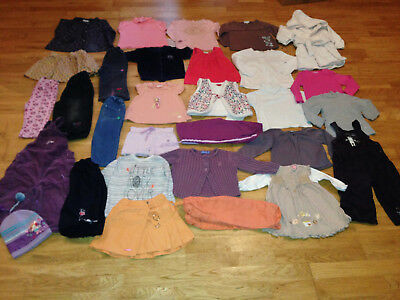 lot vetements fille 18 mois kidkanai orchestra kimbaloo grain de blé X30