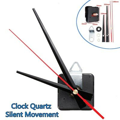 DIY Quartz Silent Clock Movement Mechanism Module Hour Minute Second Hand